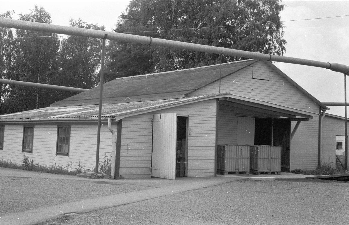 Lagerbyggnad, Lytta snickerifabrik, Bälinge socken, Uppland 1976