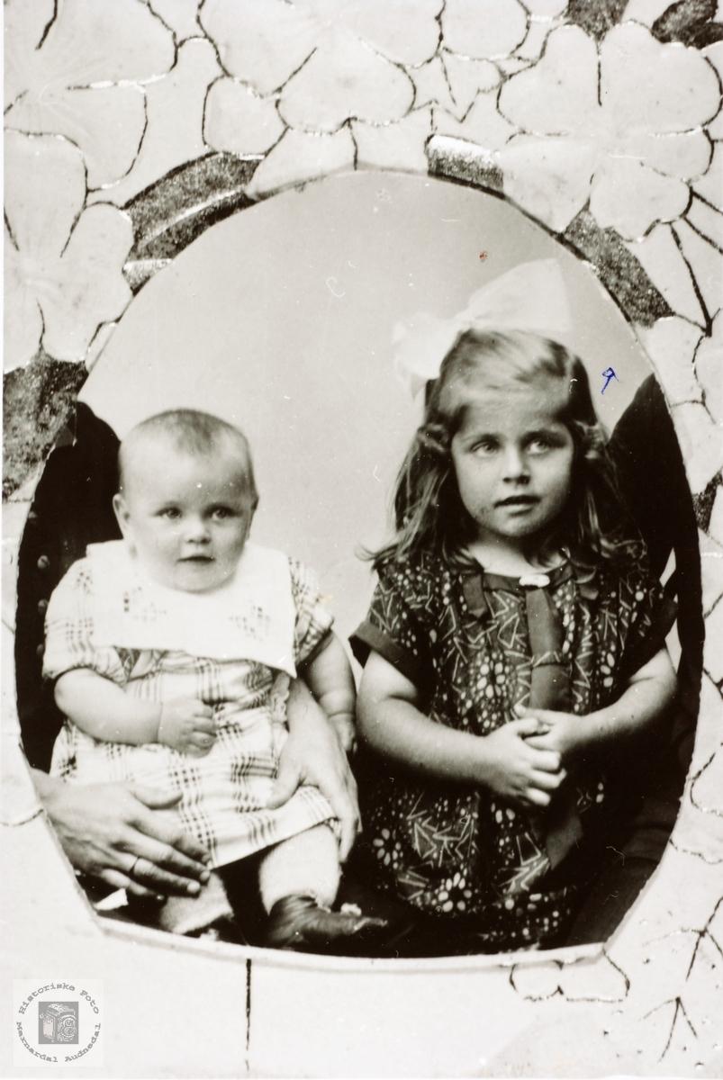 Søstrene Agnes og Asborg Hårtveit.