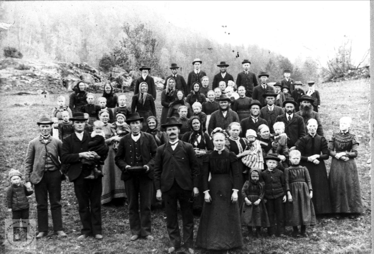 Bryllaup på Brandsdal i Grindheim
