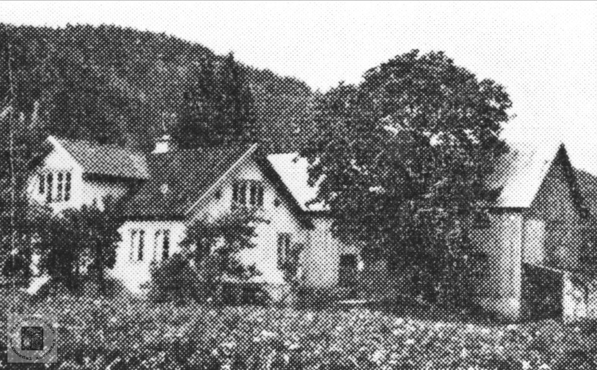 Gardsbruk Skålneset i Finsland senere Marnardal.