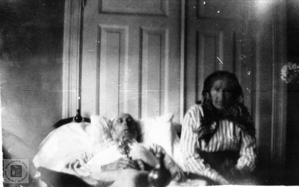 Jon og Johanna Omdal, Øyslebø.