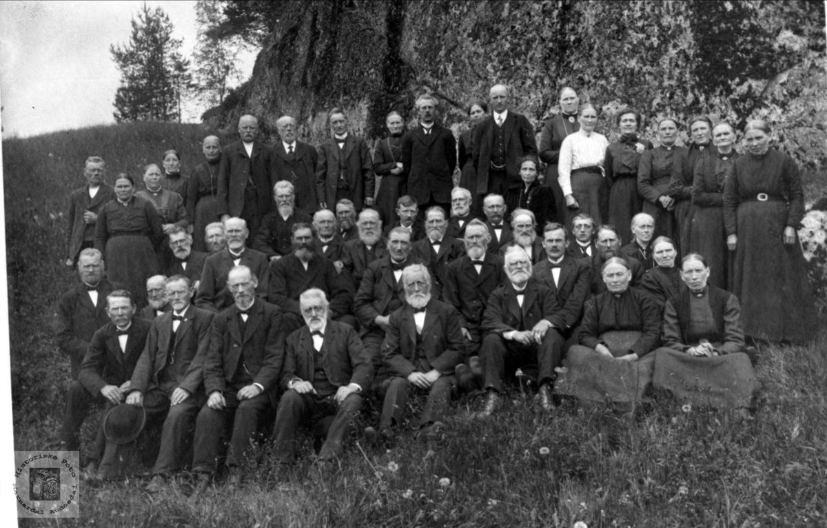 Øyslebø og Laudal  sparebank jubileum i 1917