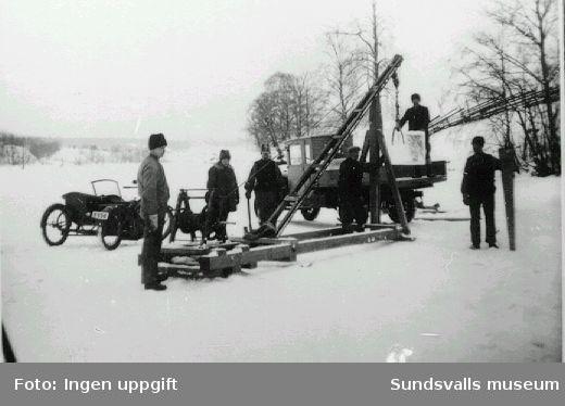 Isupptagning troligen i Ljungaverk.