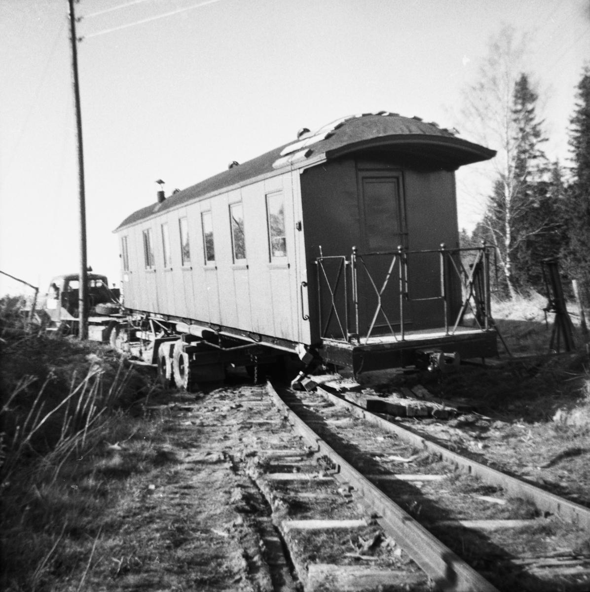 Flytting av vogn BCo 3 fra Sørumsand Verksted til museumsbanen