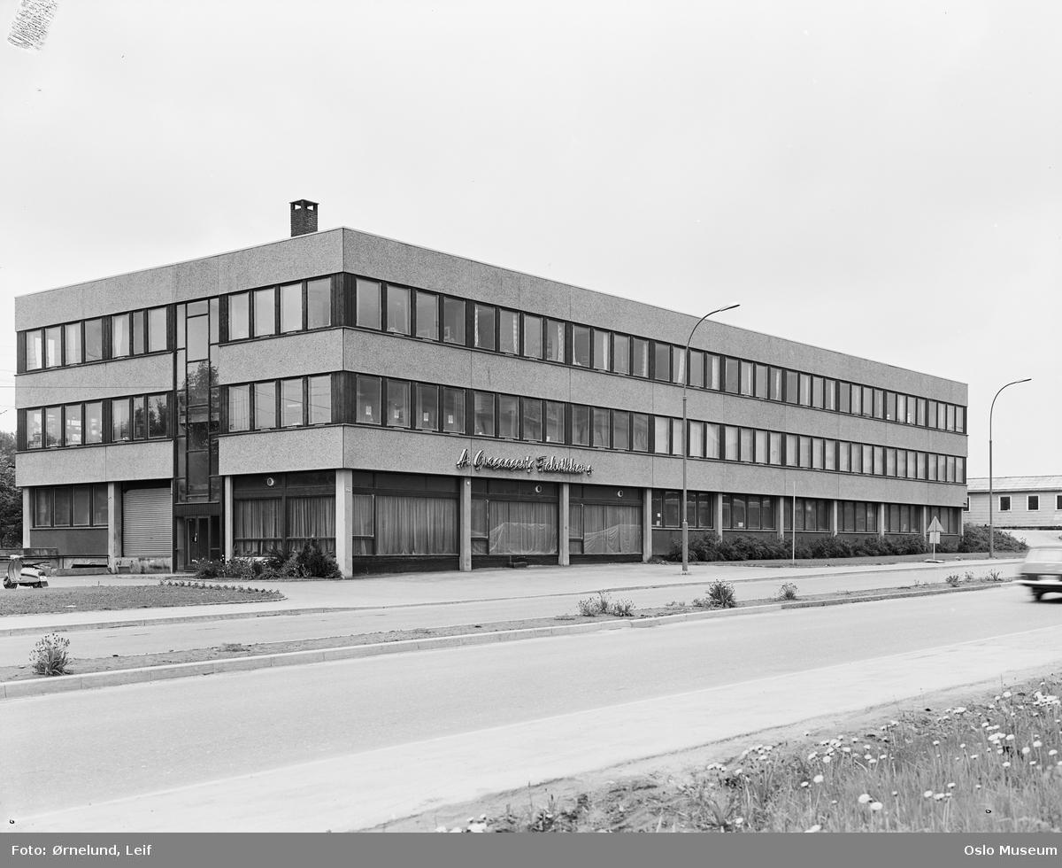 A. Grasaasens Fabrikker, fabrikkbygning
