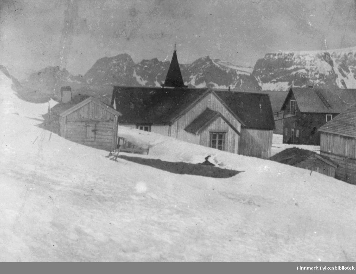 'Loppen kirke' - ca 1900