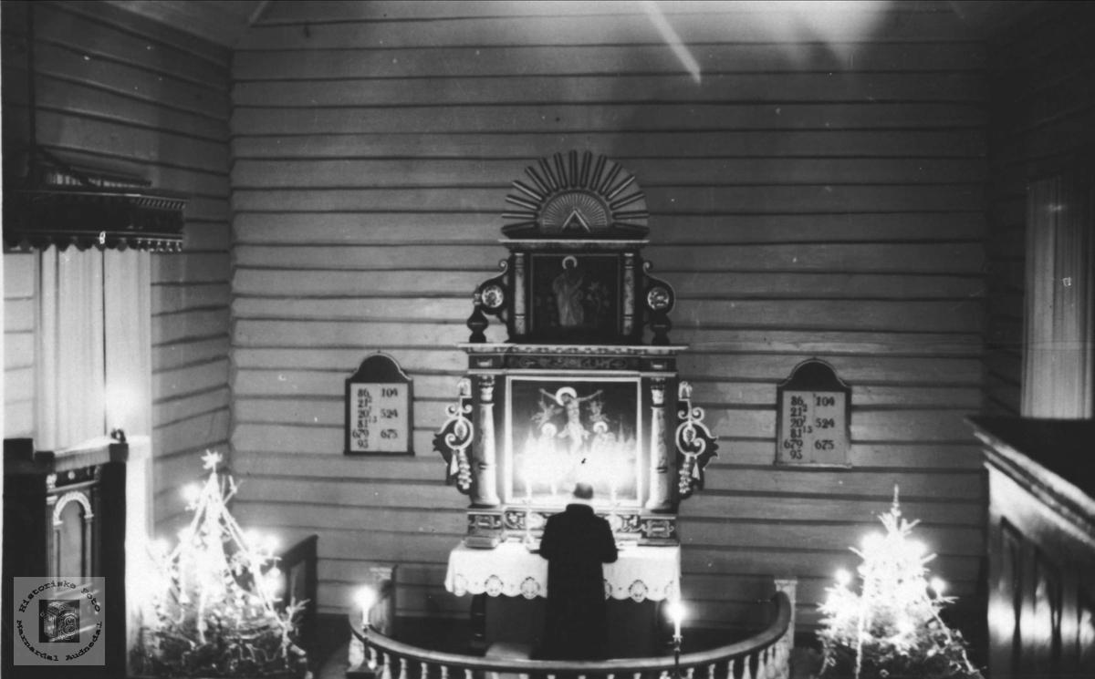 Nyttårsgudstjeneste i Øyslebø kirke