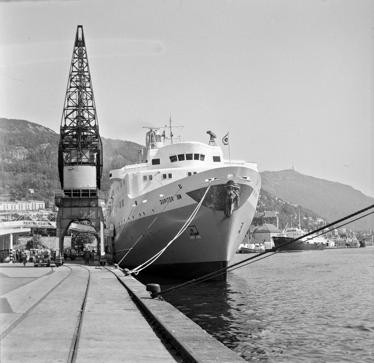 M/S Jupiter ved Bergen havn