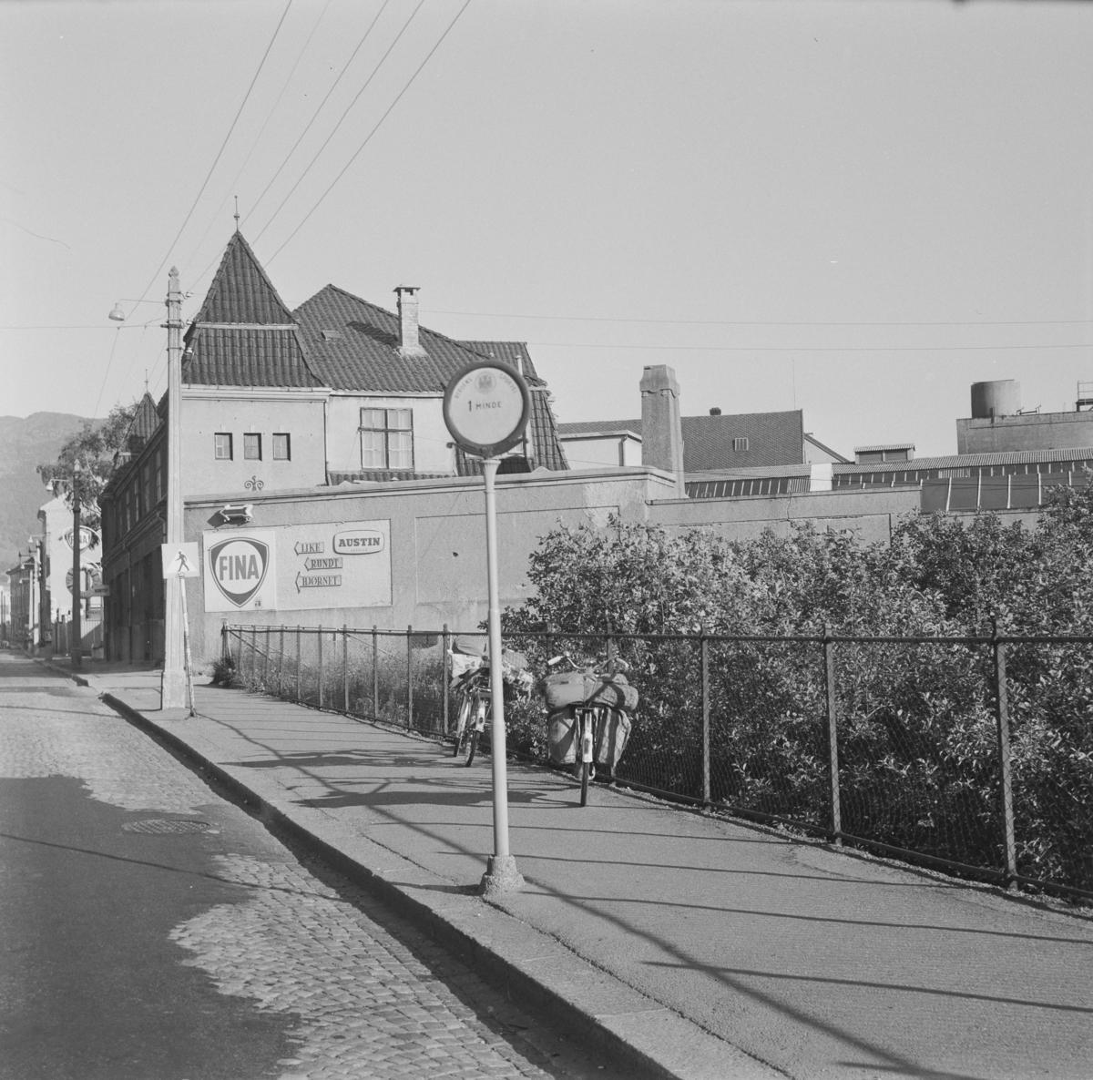 Nedlagt trikkeholdeplass iBjørnsons gt. i Bergen