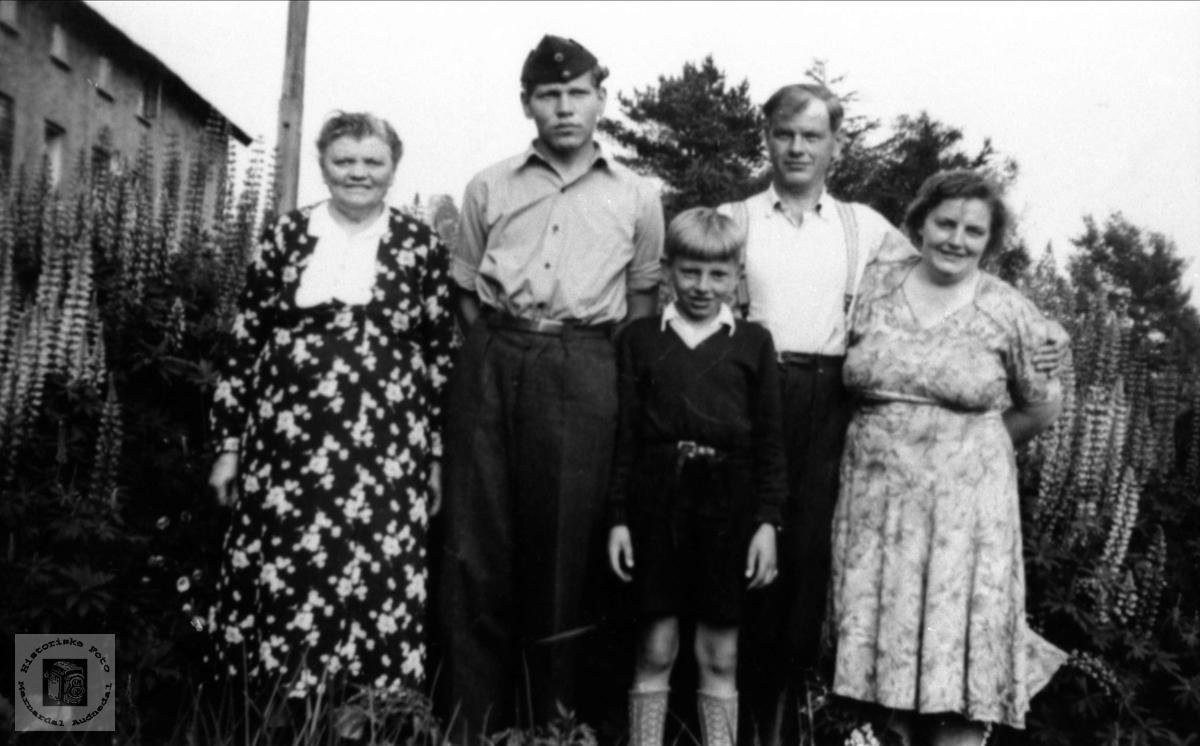 Familegruppe på Eikså