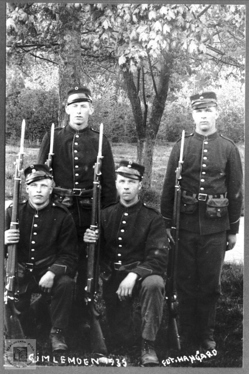 Soldater Gimlemoen 1935