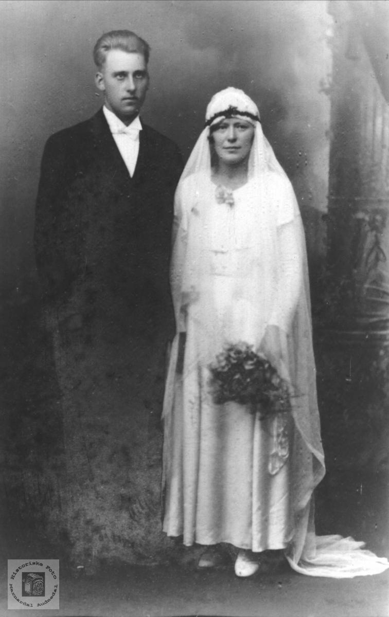 Ekteparet Kristen og Astri Skår
