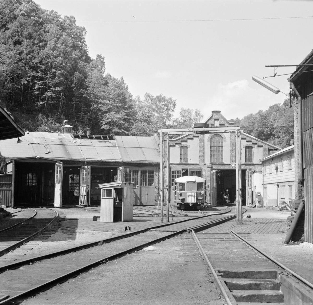 Lokomotivstallen i Arendal.