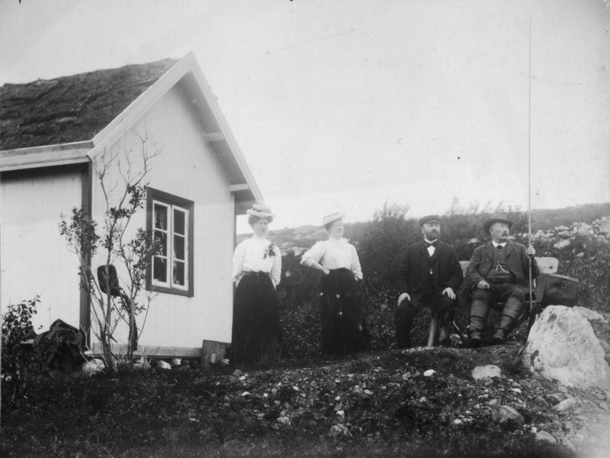 Fossestuen 13. august 1907.