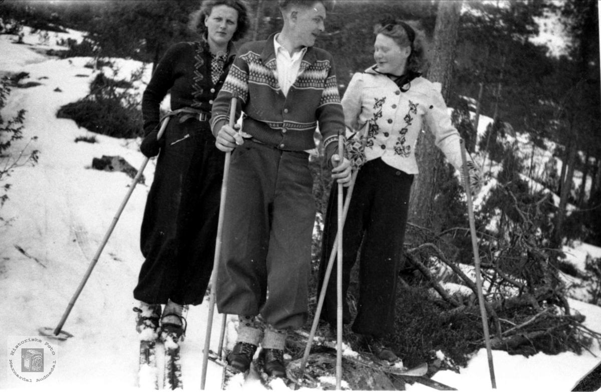 Skitur for Bjellandsungdom