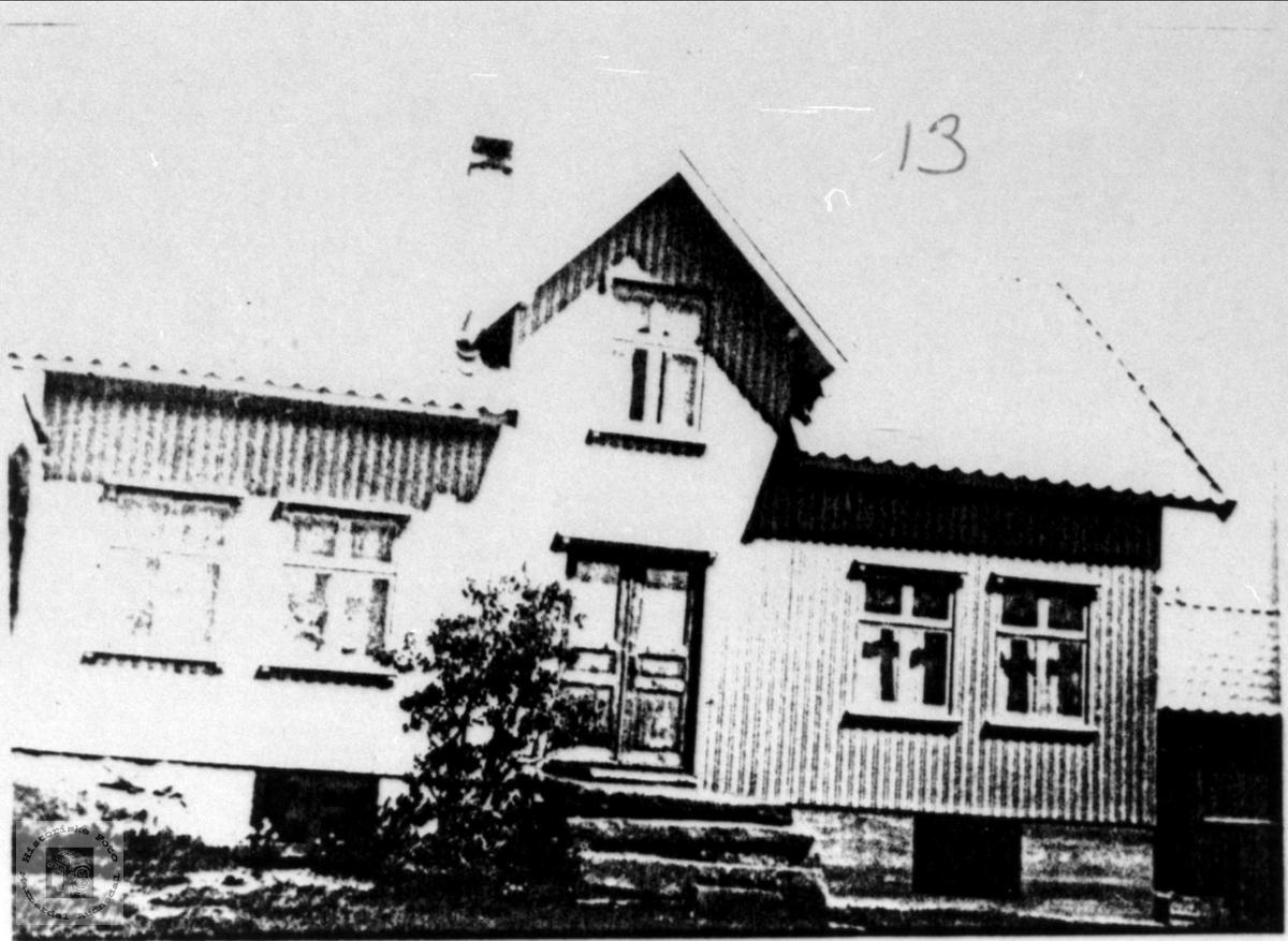 Heimen på Birkeland.