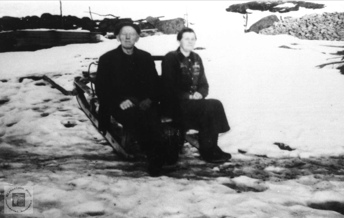 Ektepar.John og Randi tisland.