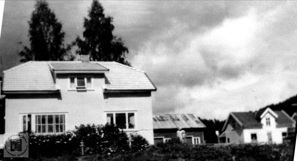 Hus. Telefonstasjonen på Laudal.