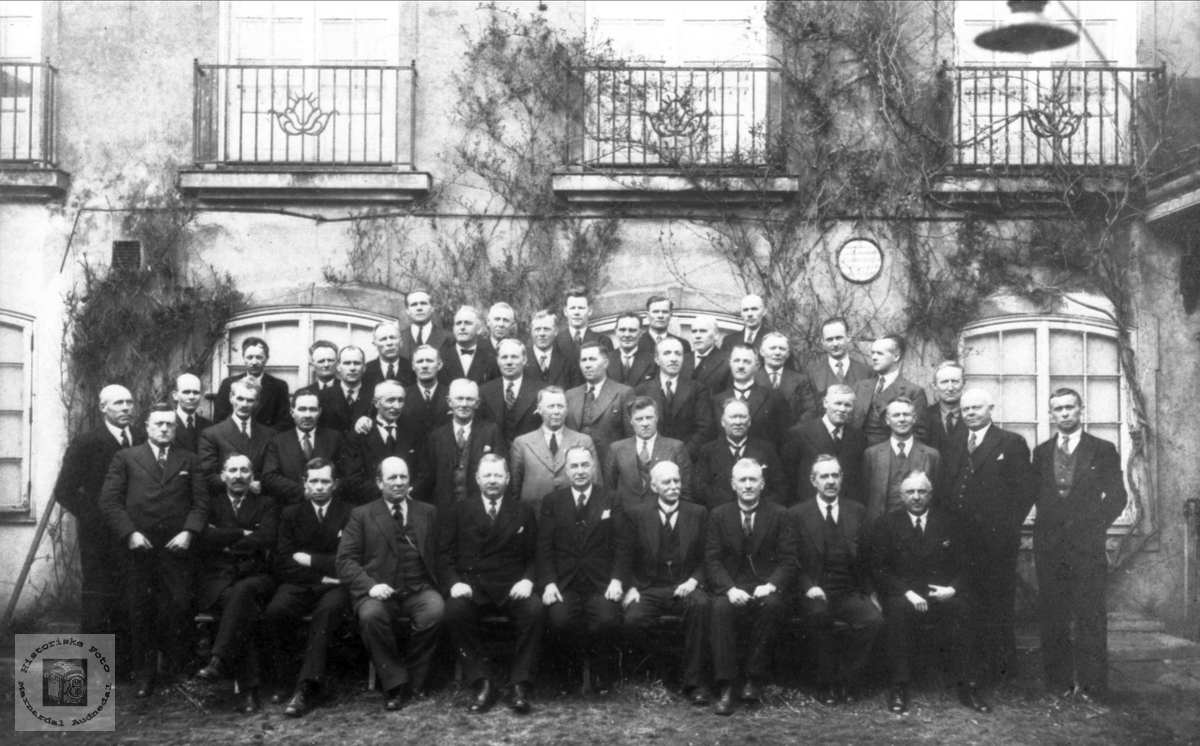 Vest-Agder fylkesting 1938-42.
