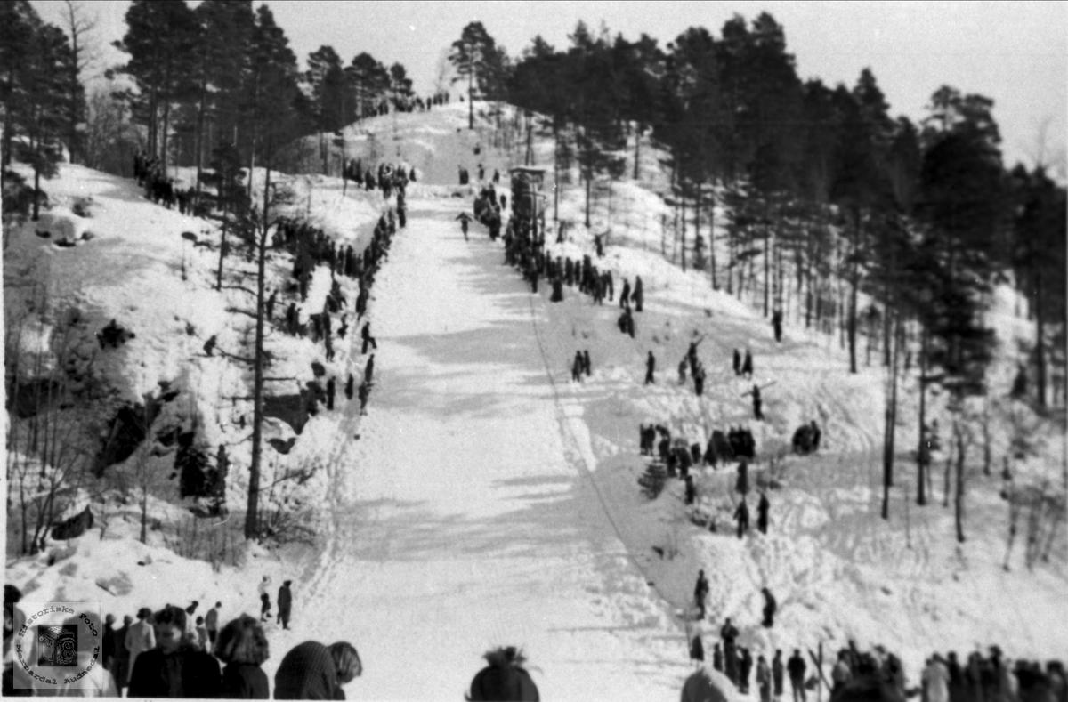 Åraksbakken på Koland.