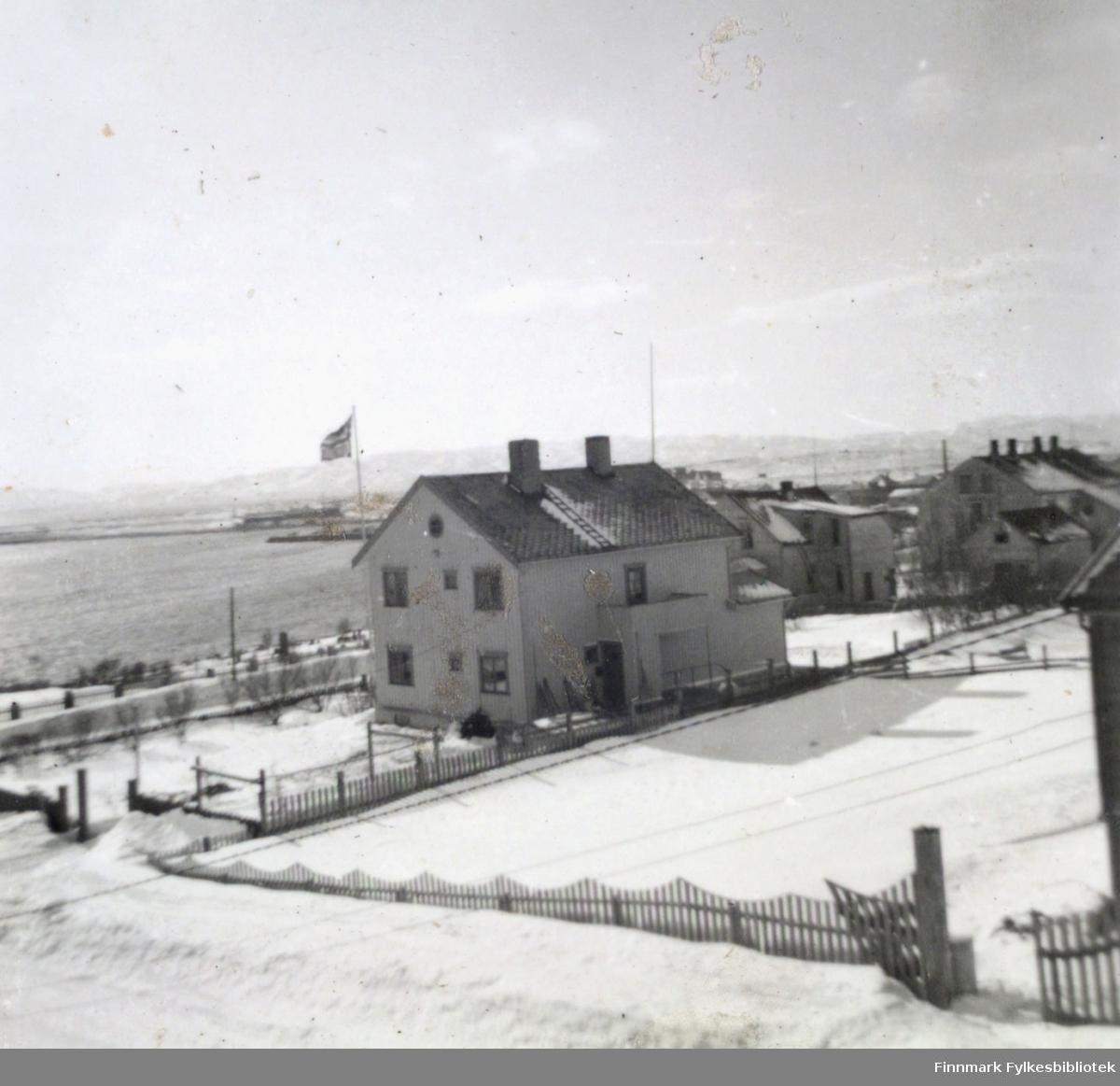 Søsterhjemmet i Vadsø. Ragnhild Stock bodde her da hun som ung sykepleier begynte å arbeide på Vadsø sykehus