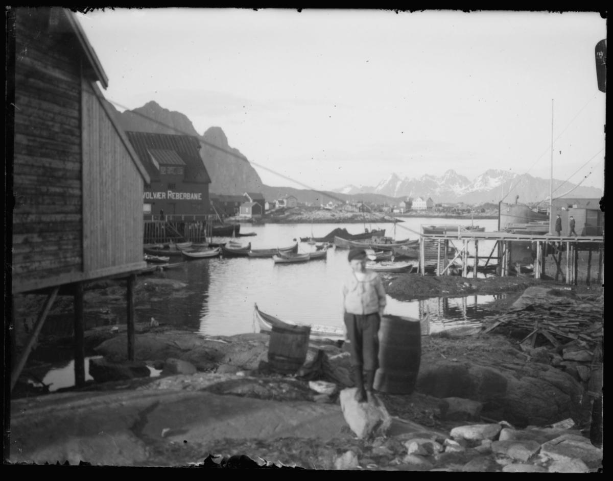 Reisen nordover november 1912. Svolvær.