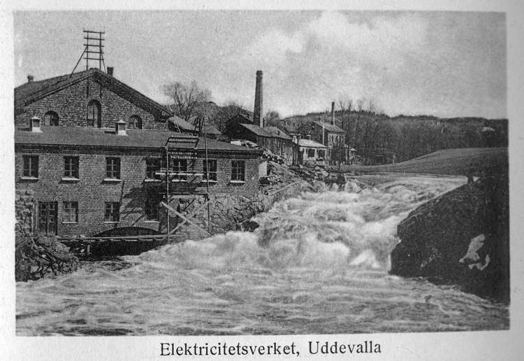 """""""Elektricitetsverket, Uddevalla""""."""