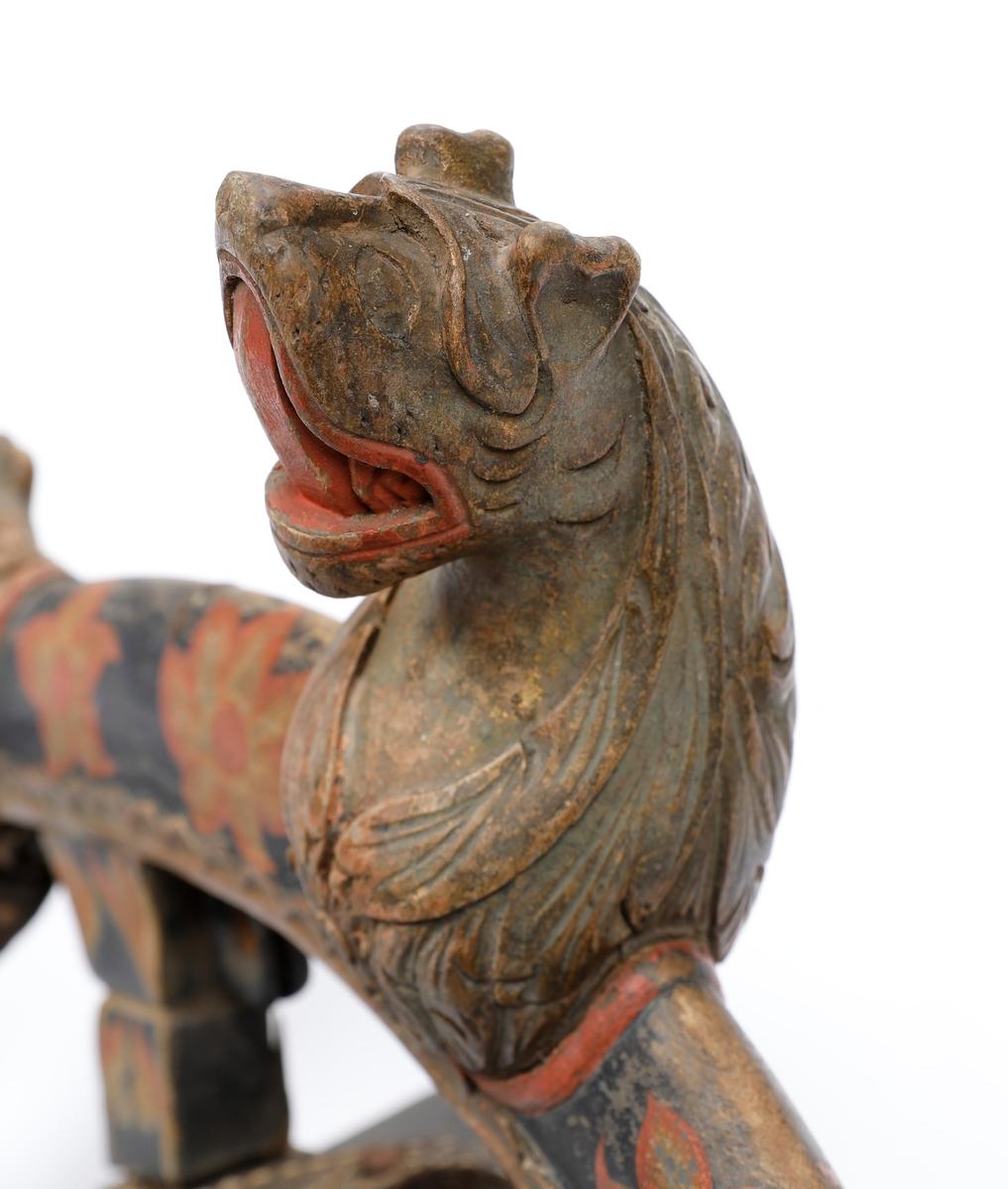 Komplett hestesele, høvre og bogtre.