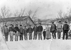 Arbeidere ved Nygruva Folldal Verk