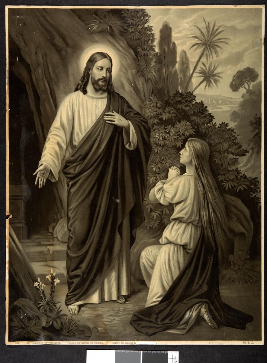Jesus og den knelende Maria Magdalena