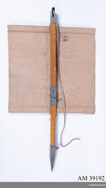 """Grupp H III. Märkt """"I 2, 1925""""."""