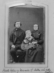 Rasmus Møller med familie
