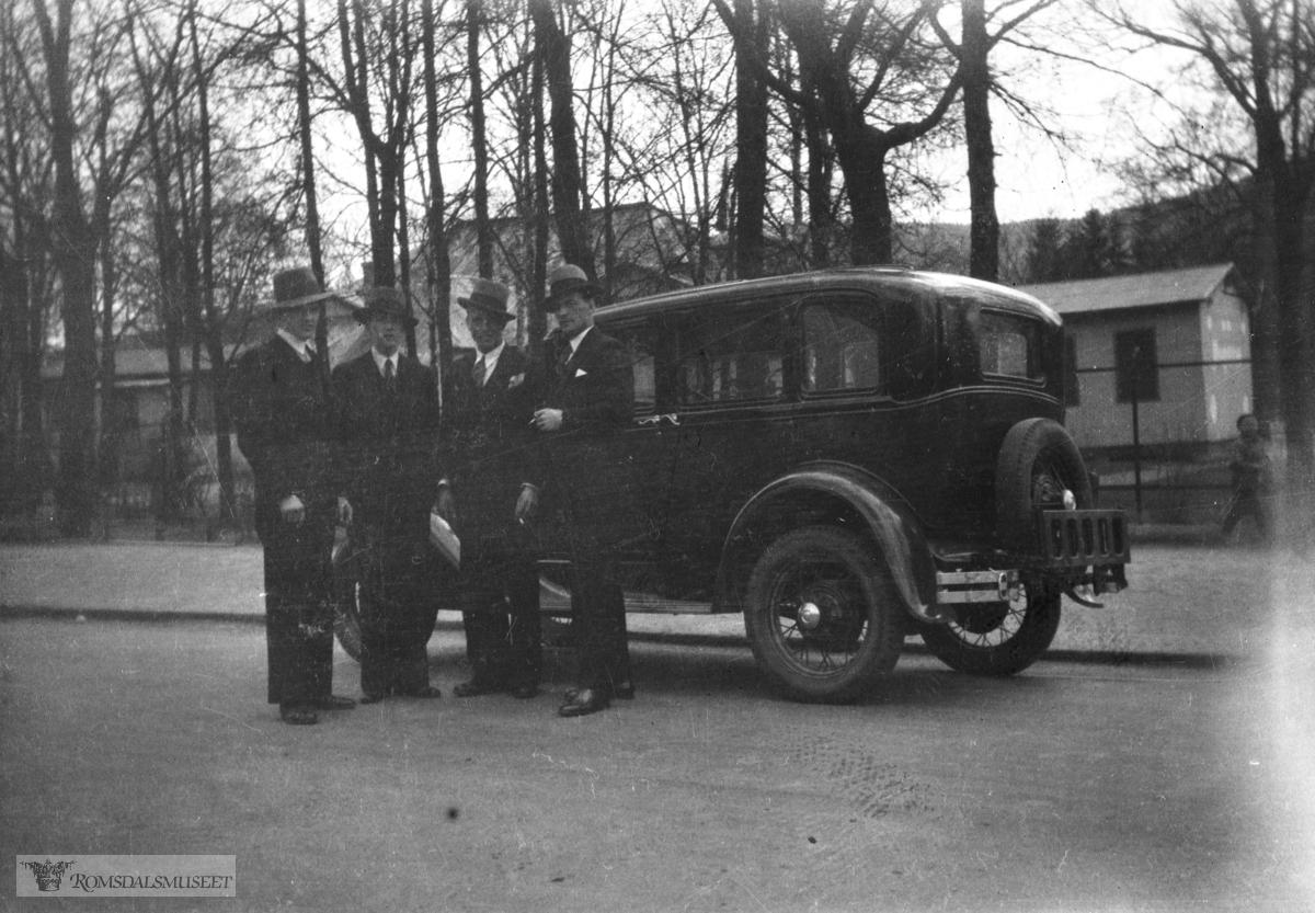 Ford A årsmodell 1930-31.