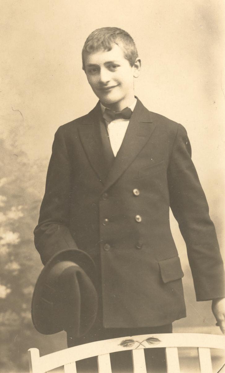 Johan Fredrik Hoch, konfirmasjonsbilde