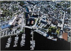 Egersund sentrum, sommeren 2008.
