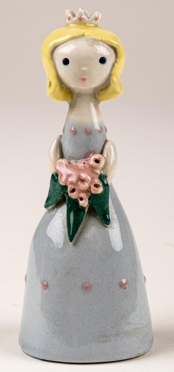 Brud till Brudfölje, figuringrupp av  Dorothy Clough, 1955, Gefle Porslinsfabrik. Ingen märkning.