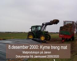Matproduksjon på Jæren år 2000