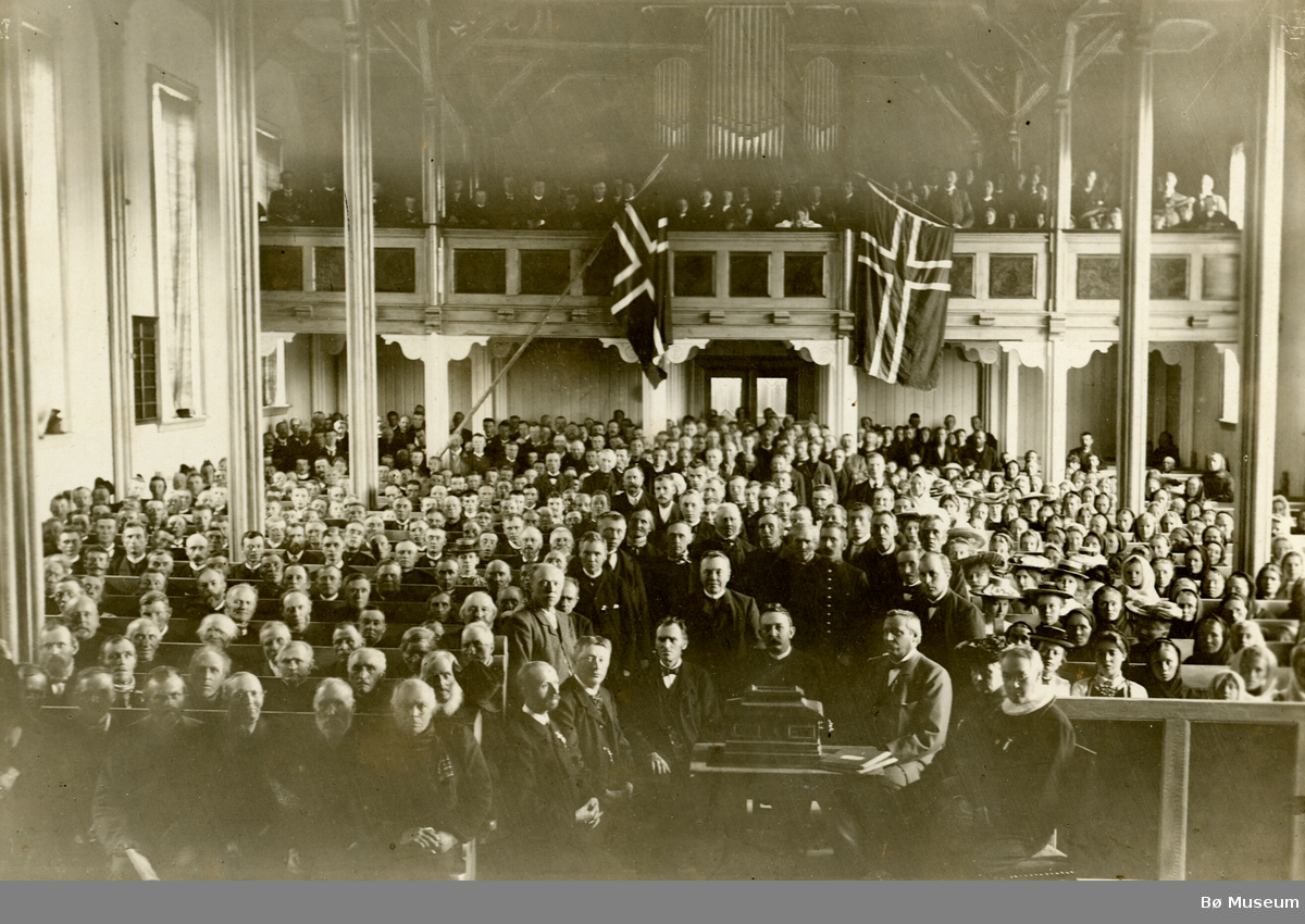 Folkemengde i Bø kyrkje