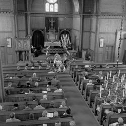 Begravelsen Rolf Kvaal som ble drept av en pasient fra Reitg