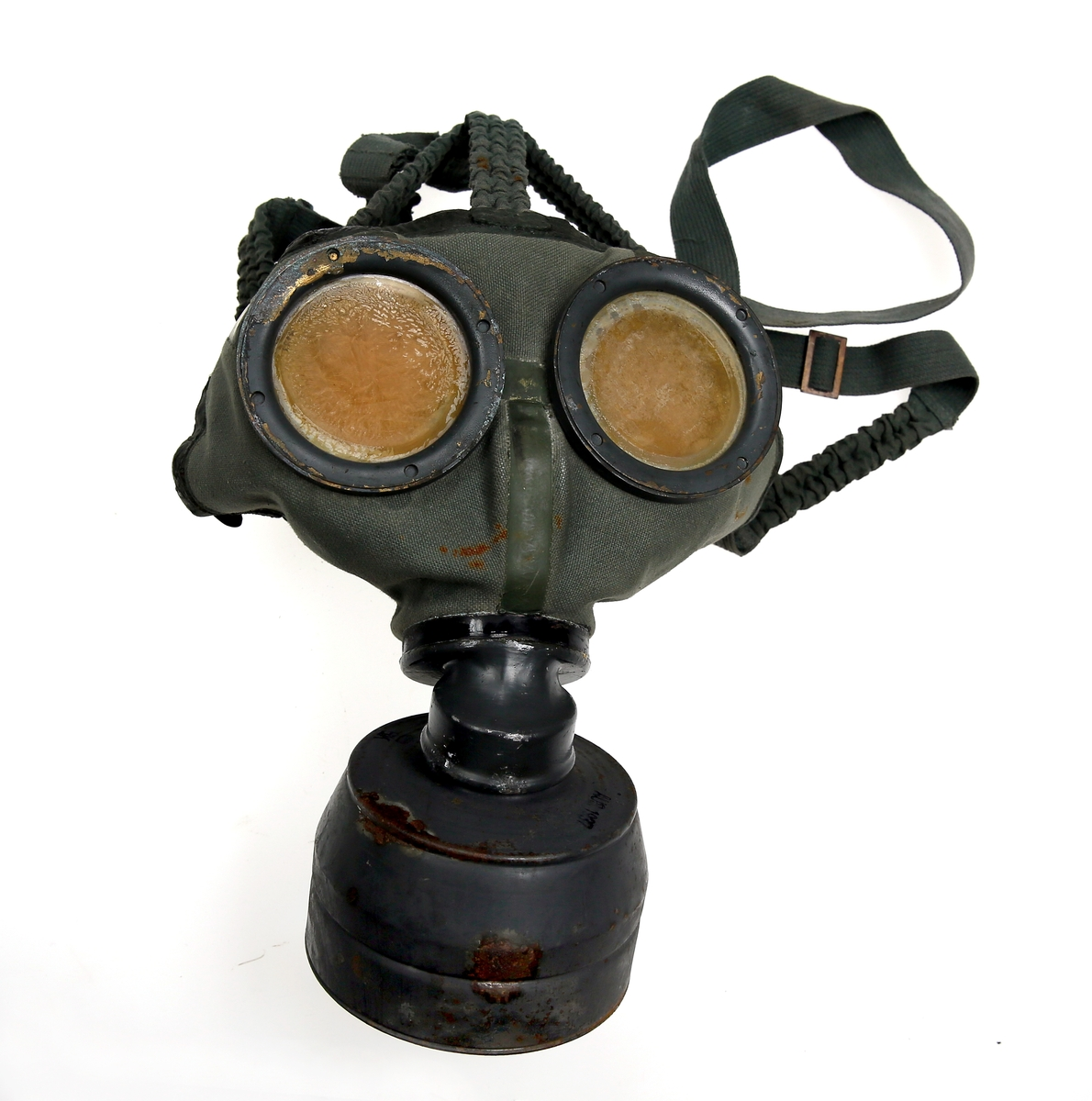 Tysk gassmaske GM30 fra andre verdenskrig.
