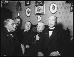 Årssammanträde hos sekreteraren 1916