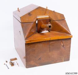 Modell av 30-pundig kanon