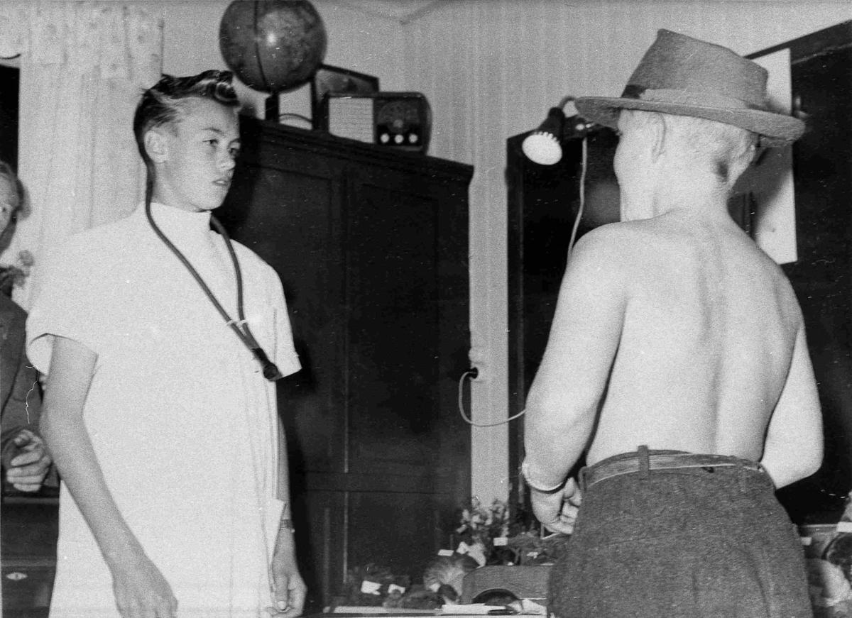 Bilder fra Birkenes kommune 4 H-fest ca 1959