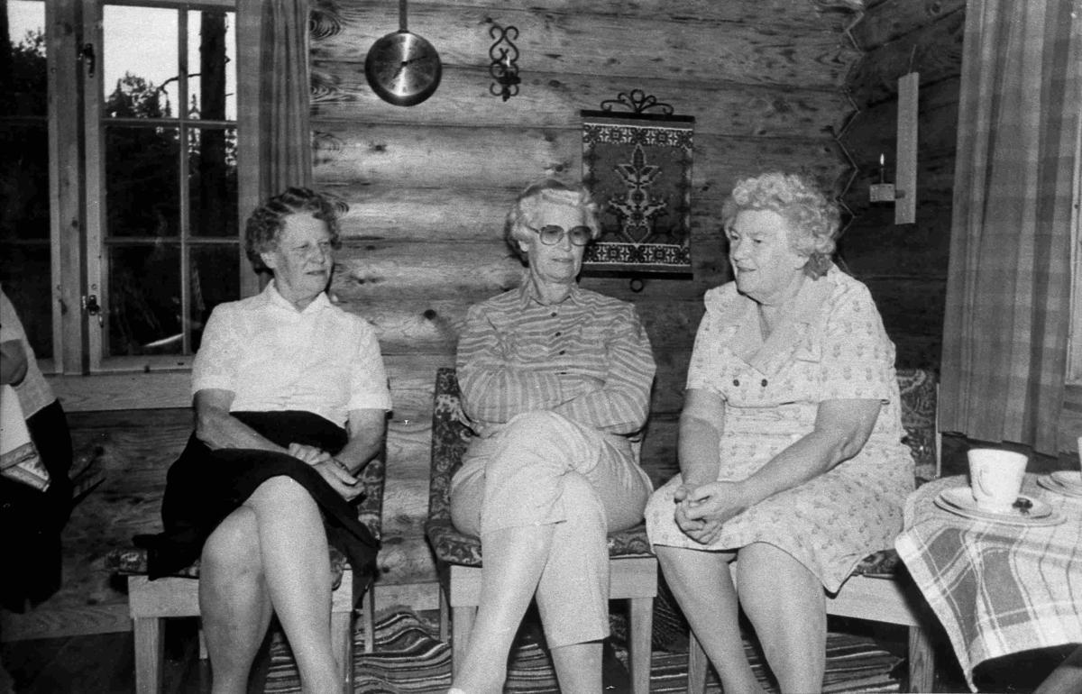 Bilder fra Birkenes kommune Koner på tur - ca 1990