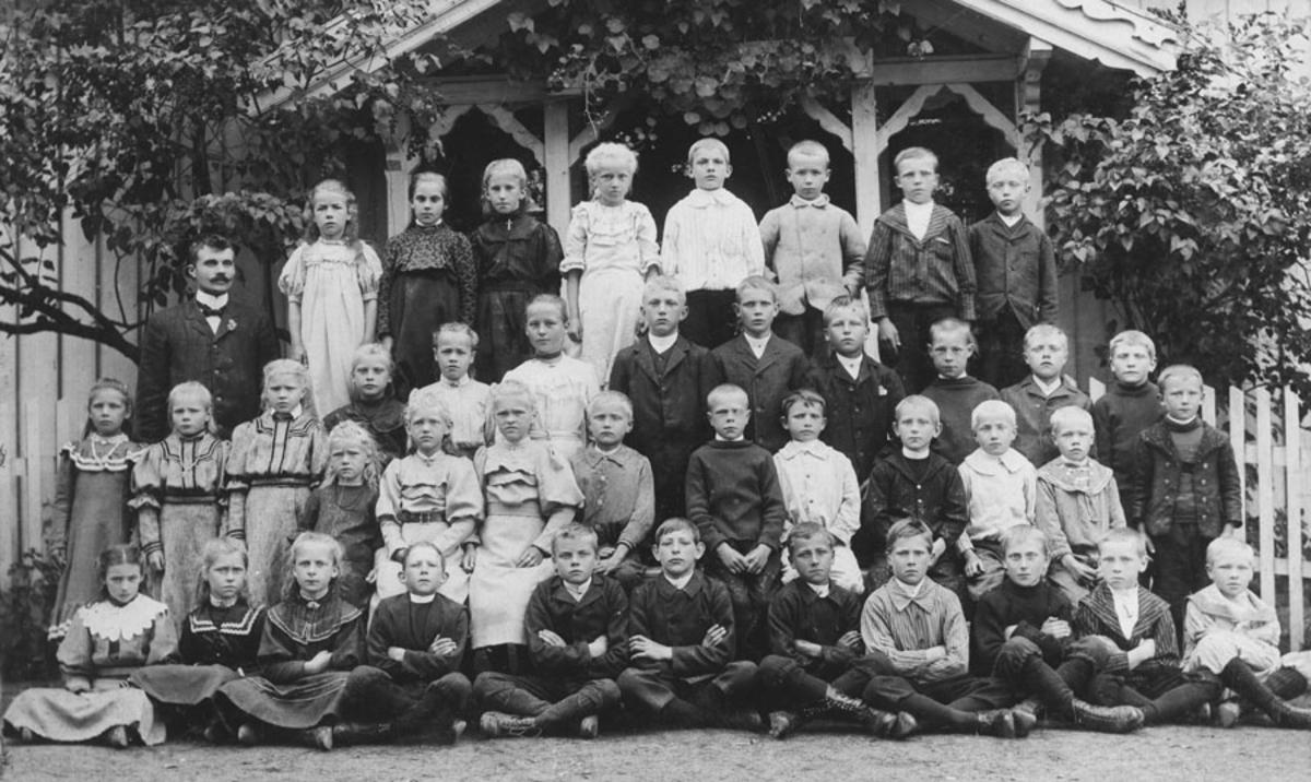 Bjerke skole 1906 eller 1907