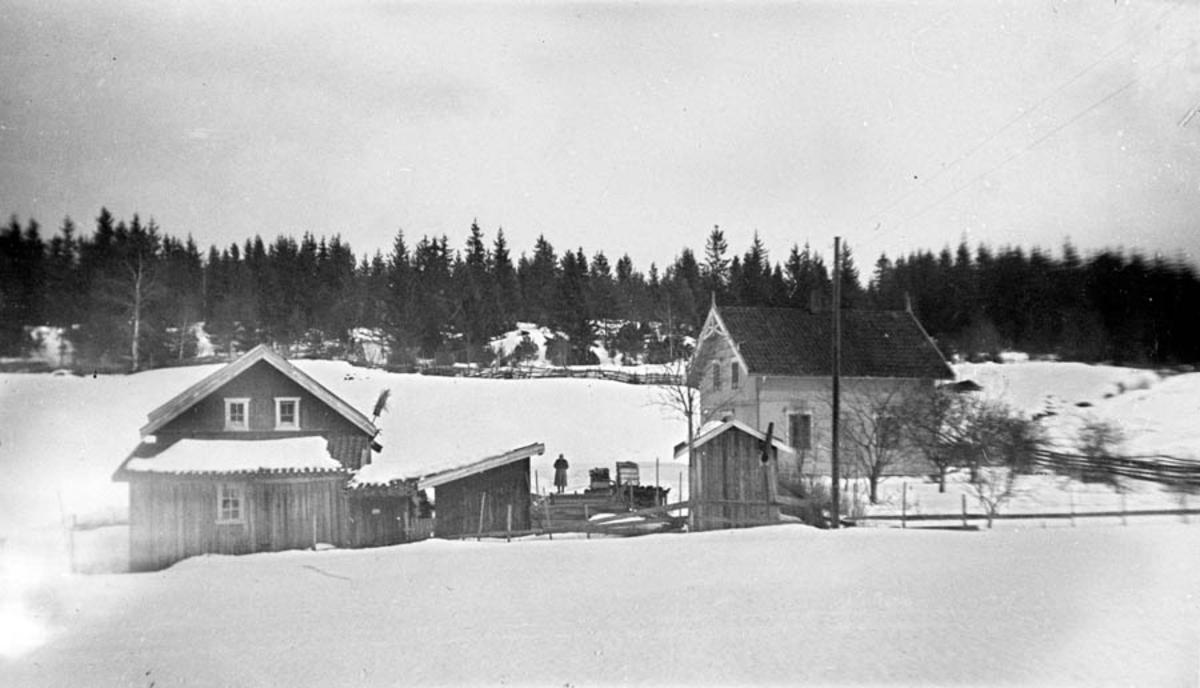 Bebyggelsen på Ekeberg.