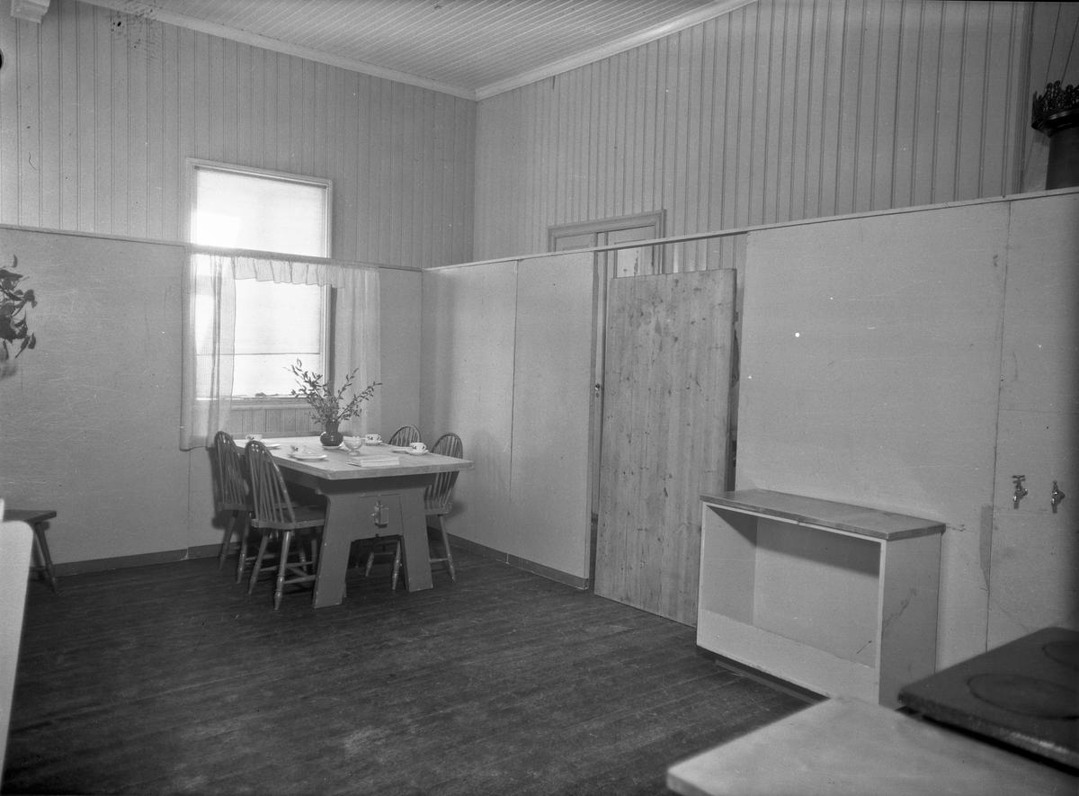 Utstilling av kjøkkeninnredning.