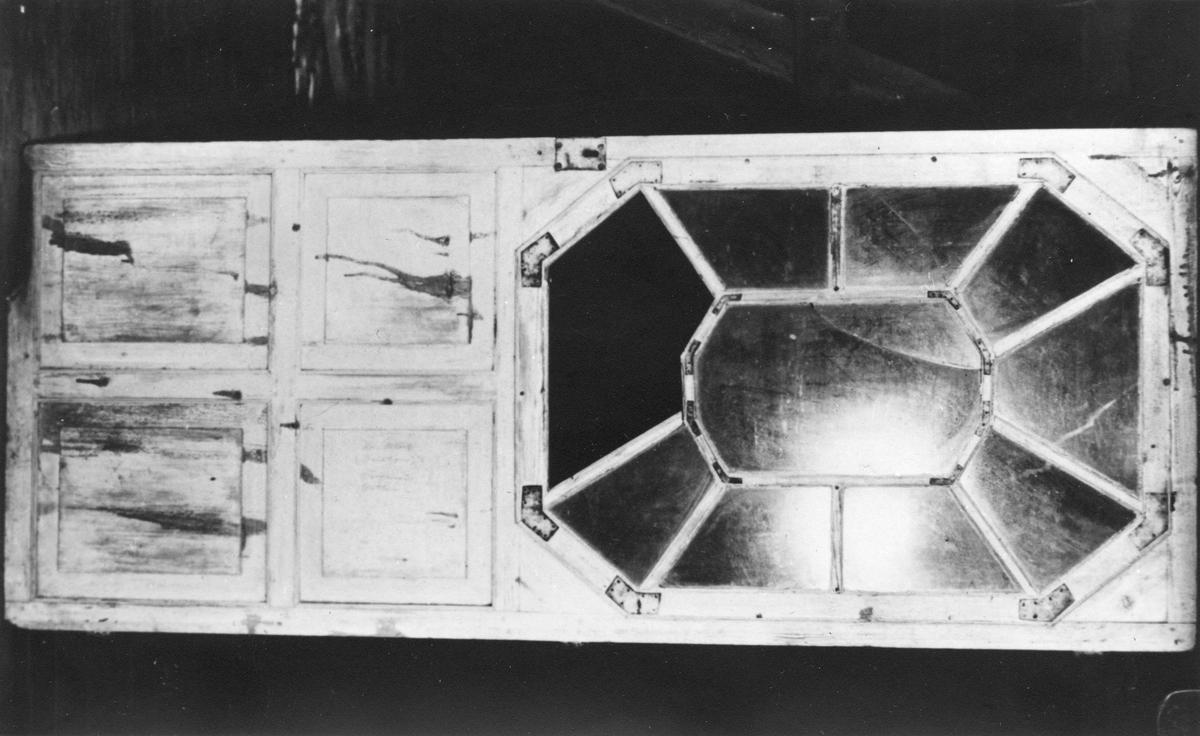 Dommier Erdmanns rekonstruksjonstegning av paviljongen på Balstigen.