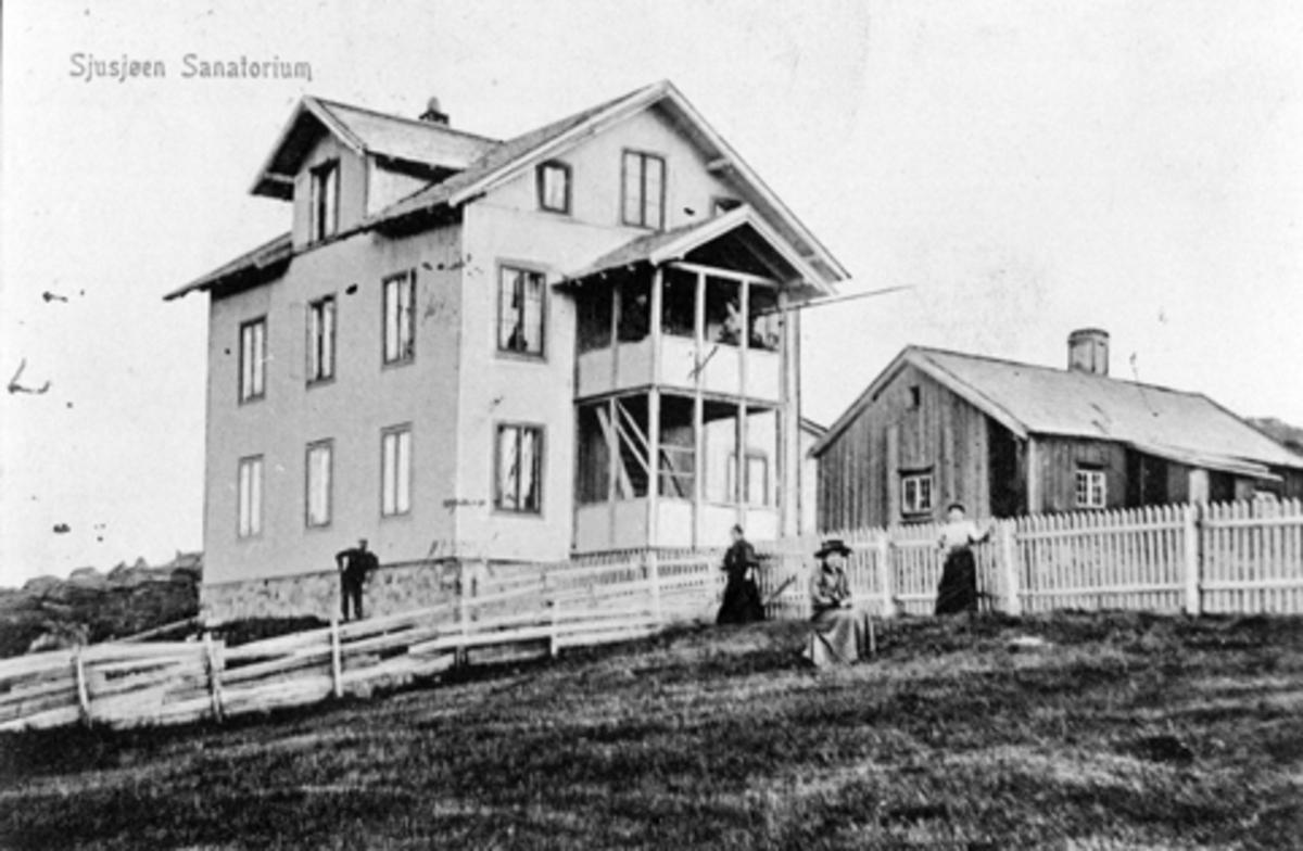 Eksteriør, Sjusjøen sanatorium, Ringsaker.
