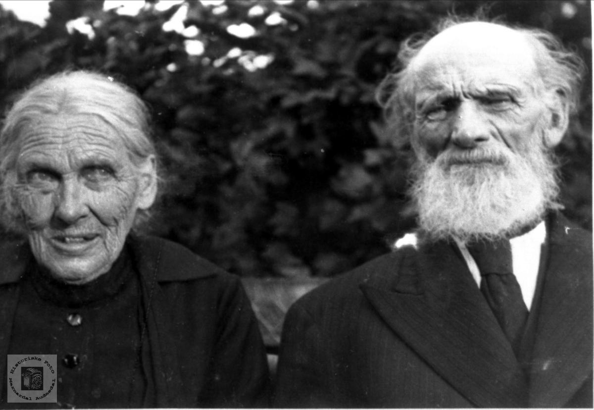 Gullbryllup til ekteparet Sille og Andras Petterson Nome trolig i 1931.